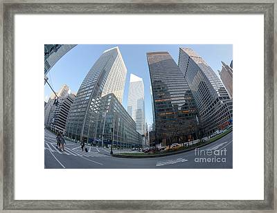 Citigroup Center From Park Avenue I Framed Print by Clarence Holmes