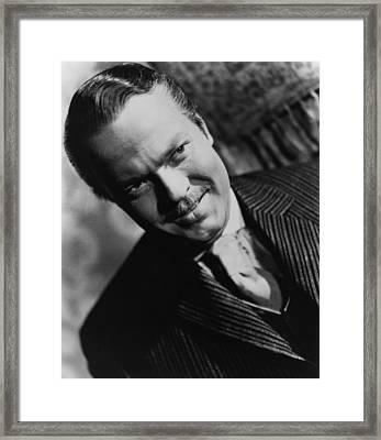 Citizen Kane, Orson Welles, 1941 Framed Print