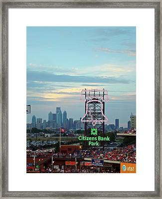 Citizens Bank Park 1 Framed Print by See Me Beautiful Photography