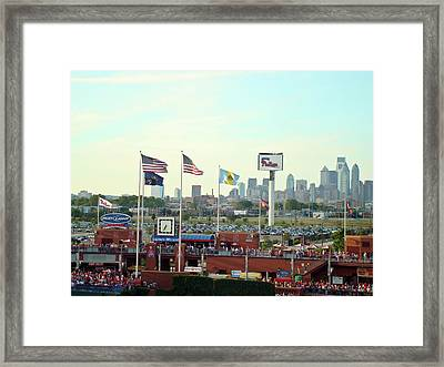 Citizens Bank Park 3 Framed Print by See Me Beautiful Photography
