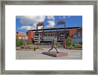 Citizens Park 2 Color Framed Print by Jack Paolini