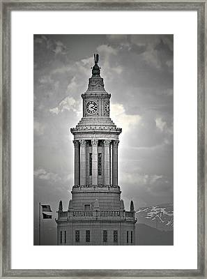 City And County Of Denver Building Framed Print