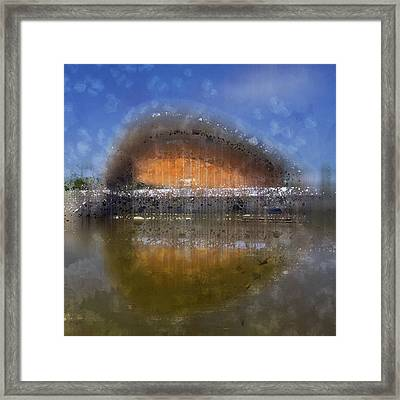City-art Berlin Pregnant Oyster Framed Print by Melanie Viola