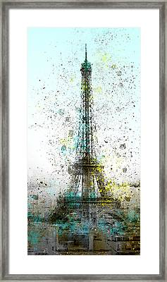 City-art Paris Eiffel Tower II Framed Print