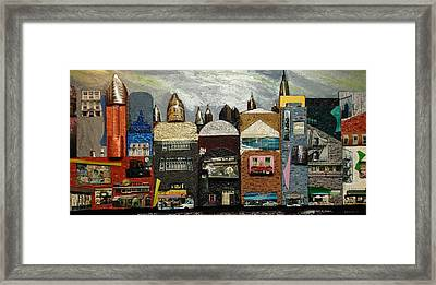 City Block Framed Print