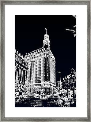 City Center  Framed Print by Joe Finney