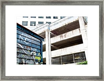 City Decay Framed Print