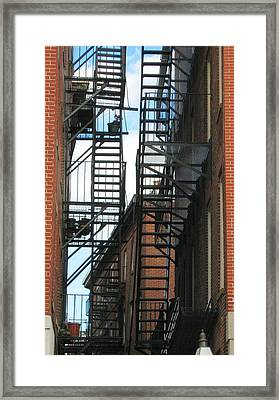 City Escapes Framed Print by Bruce Carpenter