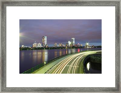 City Flow Framed Print