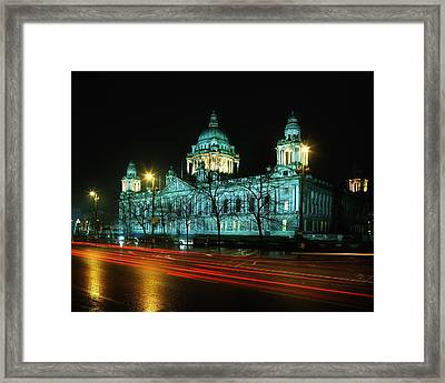 City Hall, Belfast, Ireland Framed Print by The Irish Image Collection