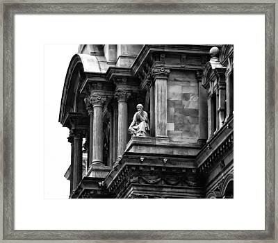City Hall Edifice - Philadelphia Framed Print