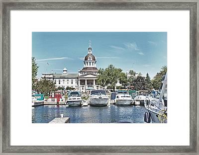 City Hall Kingston Ontario Canada Framed Print