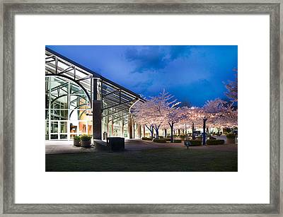 City Hall Framed Print by Sandra Sigfusson