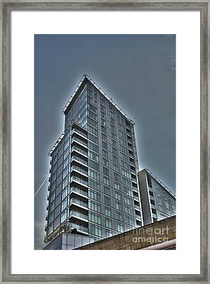City Living 3 Framed Print by David Warren