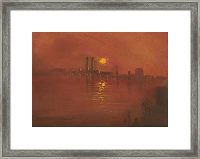 City Mist 3 Framed Print by Paul Mitchell