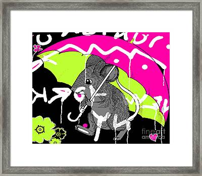 City Mouse Baby Juvenile Licensing Art Framed Print