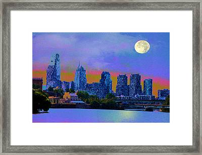 City Nights Framed Print by Bill Cannon