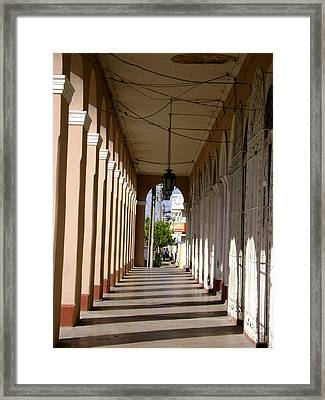 City Of Arches Framed Print by Laurel Fredericks