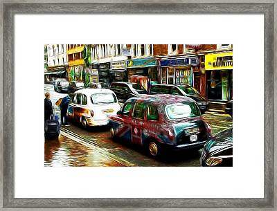 City Of Colors Framed Print
