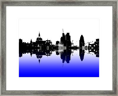 City Of Culture Framed Print by Sharon Lisa Clarke