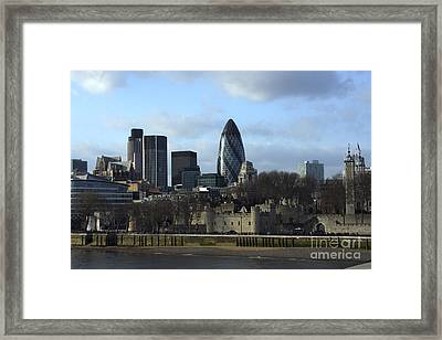 City Of London Framed Print