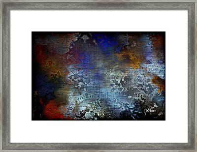 City Of Man Framed Print by The Art Of JudiLynn