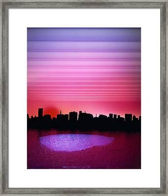 City Of My Dreams Framed Print by Jan W Faul