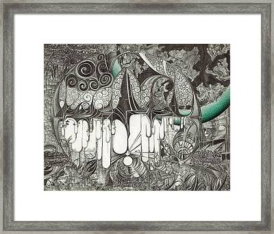 City Of The Universe Framed Print