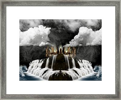 City On The Edge Of Forever Framed Print