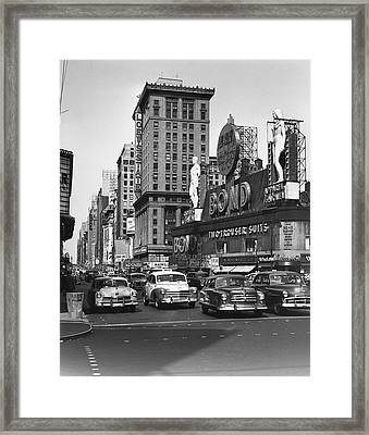 City Scene Framed Print by George Marks