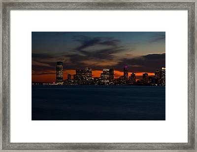 City Skies Framed Print by Michael Murphy