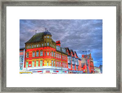 City Streets Framed Print by Barry R Jones Jr
