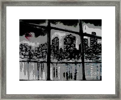 City View Framed Print by Carla Carson
