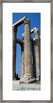 Citymarks Athens Framed Print by Roberto Alamino