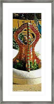 Citymarks Barcelona Framed Print by Roberto Alamino