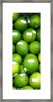 Citymarks Campinas Framed Print by Roberto Alamino