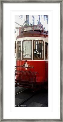 Citymarks Lisbon Framed Print by Roberto Alamino