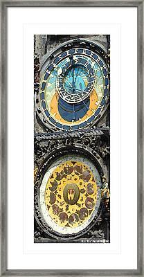 Citymarks Prague Framed Print by Roberto Alamino