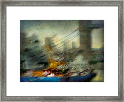 Framed Print featuring the photograph Cityscape #28 by Alfredo Gonzalez