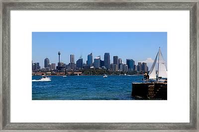 Cityscape Framed Print