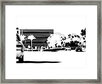 Cityscape Nr 1 Framed Print by Giuseppe Cristiano
