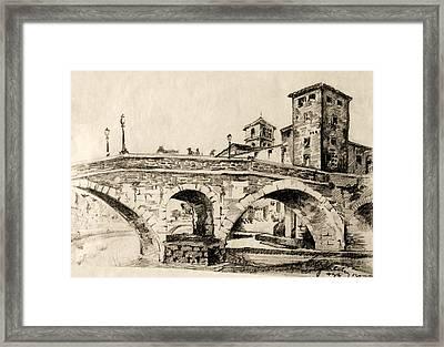 Cityscape Framed Print by Odon Czintos
