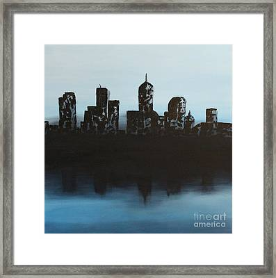 Cityscape One Framed Print