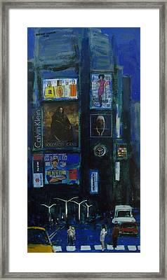 Cityscape Framed Print by Rahman Shakir