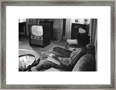 Civil Rights, An African American High Framed Print by Everett