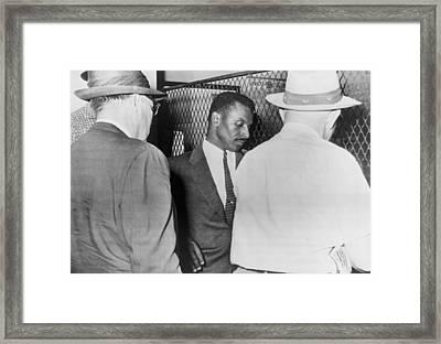 Civil Rights Leader Fred Shuttlesworth Framed Print