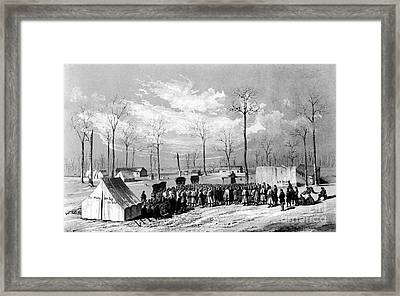Civil War: Chaplains, 1861 Framed Print by Granger