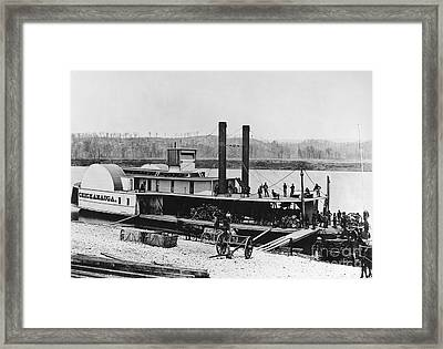 Civil War: Chickamauga Framed Print by Granger