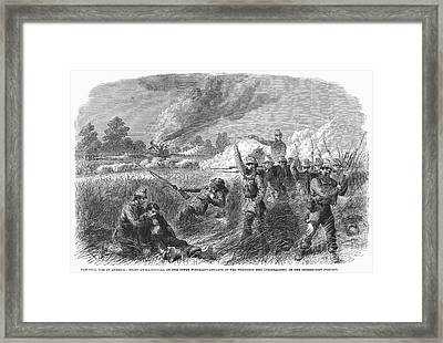 Civil War: Hainesville Framed Print