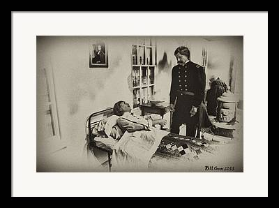 Confederate Hospital Photographs Framed Prints